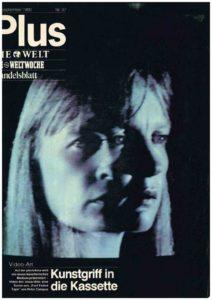 VAF 1980 198009 Die Welt Kunstgriff in die Kassette Masi