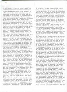 VAF 1980 Berger Rene Artvideo PP525 1794