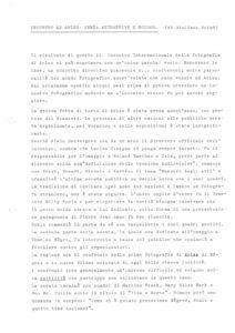 VAF 1980 Scime Giuliana Incontro ad Arles Masi