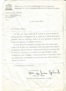 VAF 1981 19811028 Unesco Gobeil Bianda PP525 1795