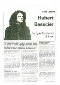 VAF 1981 Besacier Hubert Revue presse Masi