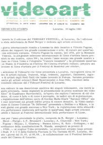 VAF 1981 Communique Presse 19810710 Masi