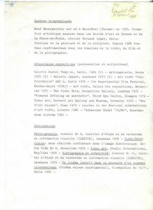 VAF 1981 Programme1980 PP525 1795
