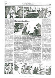 VAF 1983 Presse 19830419 Gazzetta Ticinese Coraggio di Fare Masi