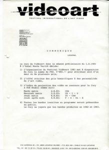 VAF 1983 communique PP525 1797