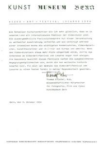 VAF 1984 19841003 Pfister Bianda Kunstmuseum Bern Masi
