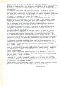 VAF 1984 Bilan Financier Masi