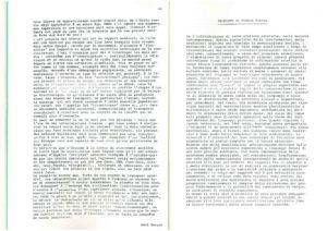VAF 1984 Bonora Proposte Poesia Visiva Brochure Masi