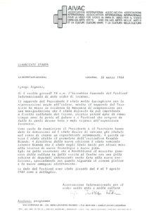 VAF 1984 Communique Presse 19840330 Masi