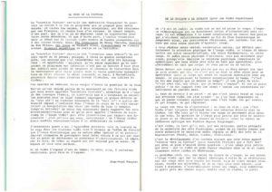 VAF 1984 Fargier Couleur Douleur Brochure Masi