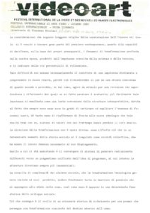 VAF 1985 Colloque Nicolaci Masi
