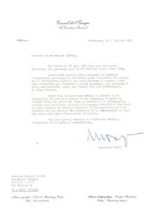 VAF 1985 Oreja Bianda Conseil Europe Masi