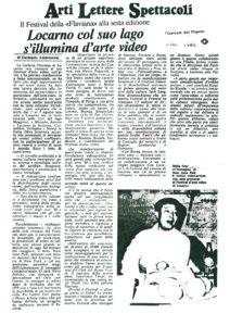 VAF 1985 Presse 19830709 Giornale del Popolo Masi