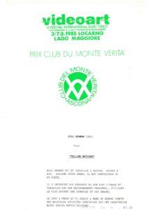 VAF 1985 Prix Club Monte Verita Masi
