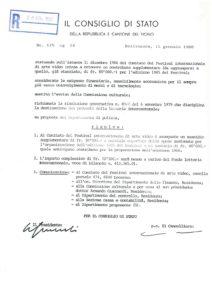 VAF 1986 19860115 Conseil Etat Tessin VAF subvention supp 1985 Masi