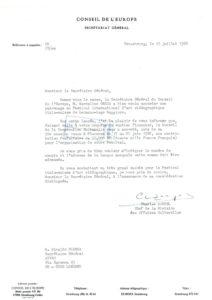 VAF 1986 19860710 Zaegel Bianda Conseil Europe Soutien Masi