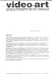 VAF 1988 19880808 VAF Rapporteurs Colloques Arge Alp
