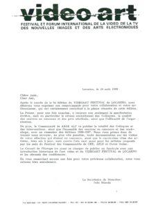 VAF 1988 19880810 VAF Remerciements Masi
