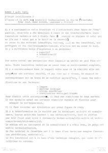 VAF 1988 Berger Feu Promethee transcription Masi