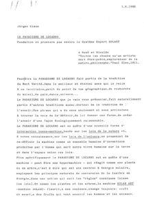 VAF 1988 Claus Paradigme Locarno Complet FR