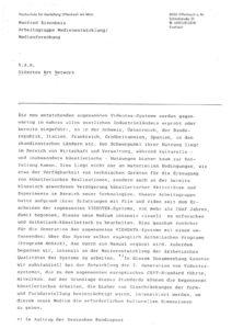 VAF 1988 Eisenbeis VAN Videotex Art Network Masi