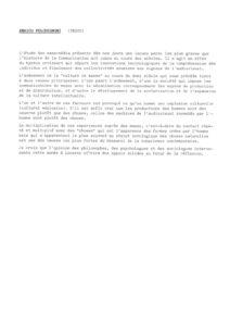 VAF 1988 Fulchignoni Abstract Masi