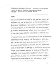 VAF 1988 Holtz Bonneau Generiques habillages television infographie Masi