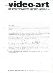 VAF 1988 Invitation VAF88 PP525 1802