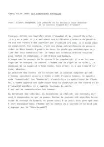 VAF 1988 Jacquard Progres Biologie regard homme Masi