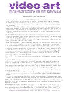 VAF 1988 Manifestation Symposii Arge Alp Masi