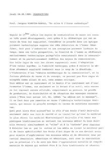 VAF 1988 Monnier Raball Silex Cathode resume Masi