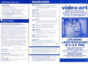 VAF 1988 Programme depliant PP525 1802
