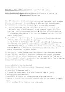 VAF 1988 Remy intelligence artificielle naturelle court Masi