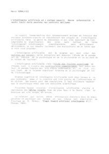 VAF 1988 Somalvico Intelligenza sistemi esperti it Masi