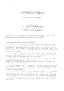 VAF 1988 Tronconi Informatique Systeme Communication Long Masi