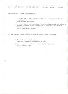 VAF 1988 programme Colloque arge alp PP525 1802