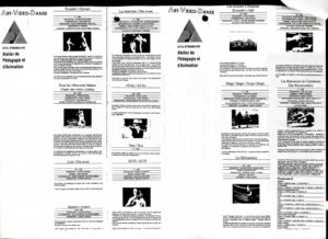 VAF 1989 Docu Art Video Danse Strasbourg PP525 1803