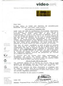 VAF 1990 199007 VAF Invitation PP525 1804