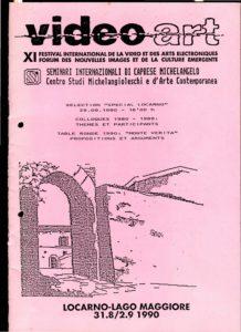 VAF 1990 A Programme Seminaires internationaux PP525 1804