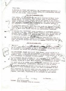 VAF 1991 19910517 Bianda Ines Berger proposition lettre PP525 1805
