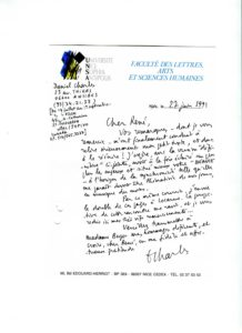 VAF 1991 19910627 Charles Berger texte PP525 1805