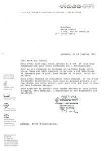 VAF 1991 19910719 VAF Dubois Masi