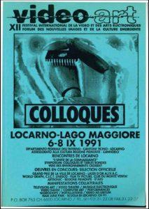 VAF 1991 A Colloques Brochure Masi