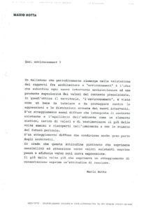 VAF 1991 Botta Quel Environnement resume Masi