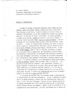 VAF 1991 Charles Daniel Musique Synchronicite PP525 1804