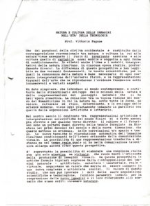 VAF 1991 Fagone Natura Cultura delle immagini technologia PP525 1805
