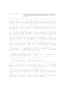 VAF 1991 Nicolescu Quel environnement physique psychique Masi