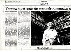 VAF 1991 Presse 19910628 Veneza encontro mundial PP525 1805