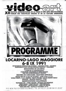 VAF 1991 Programme rv PP525 1805