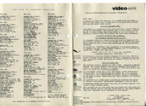 VAF 1991 Programmes divers PP525 1805